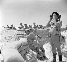 Piechota brytyjska w pobliżu El Alamein, 17 lipca 1942