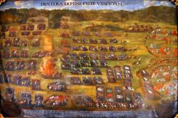 Bitwa pod Kłuszynem, obraz Szymona Boguszowicza