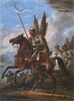 Polski husarz - obraz Aleksandra Orłowskiego